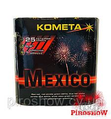 Фейерверк MEXICO 25 выстрелов 20 калибр | P7107 KOMETA