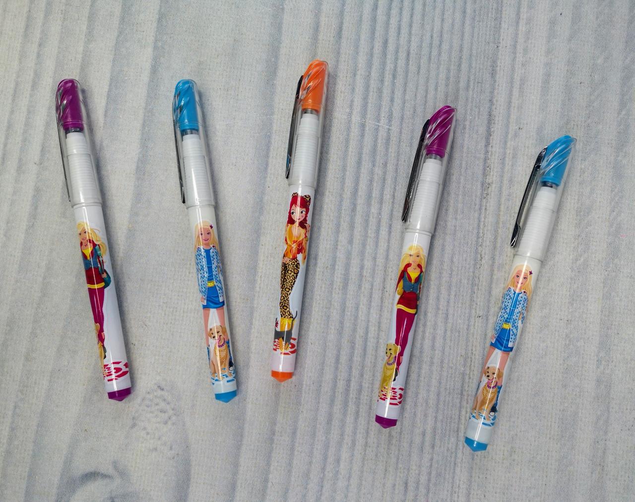 Ручка Чернильная З закритим пером для дівчаток 340 6411Ф