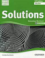 Solutions 2nd Edition Elementary: Workbook Ukrainian Edition