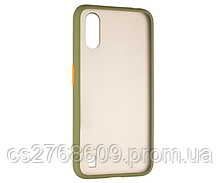 "Чехол силікон ""Keva"" Samsung A105, A10 2019 зелено-оранжевий"
