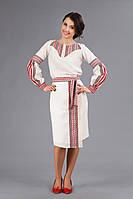 Женский костюм с украинской вышивкой, размер 56