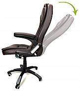 Кресло офисное MANAGER - коричневый FUNFIT HOME&OFFICE Марка Европы, фото 7