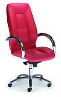 Кожаное кресло руководителя  Formula steel chrome LE
