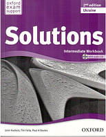 Solutions 2nd Edition Intermediate: Workbook and Audio CD Pack (UA)