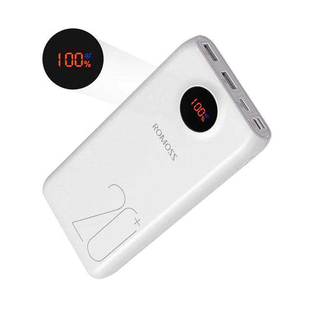 Банк заряда ROMOSS SW20 Pro 20000mAh white