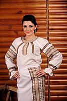 Женская вышитая блуза, размер 60