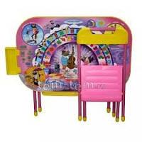 Комплект детской складной мебели «Дошкольник», стол и стул «Ну погоди» (розовый).. Купить парту Дэми