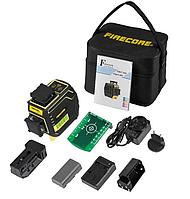 Профессиональный лазерный уровень 3D Firecore F94T-XG ПОВЫШЕННАЯ ЗАЩИТА ОТ ВЛАГИ IP 65