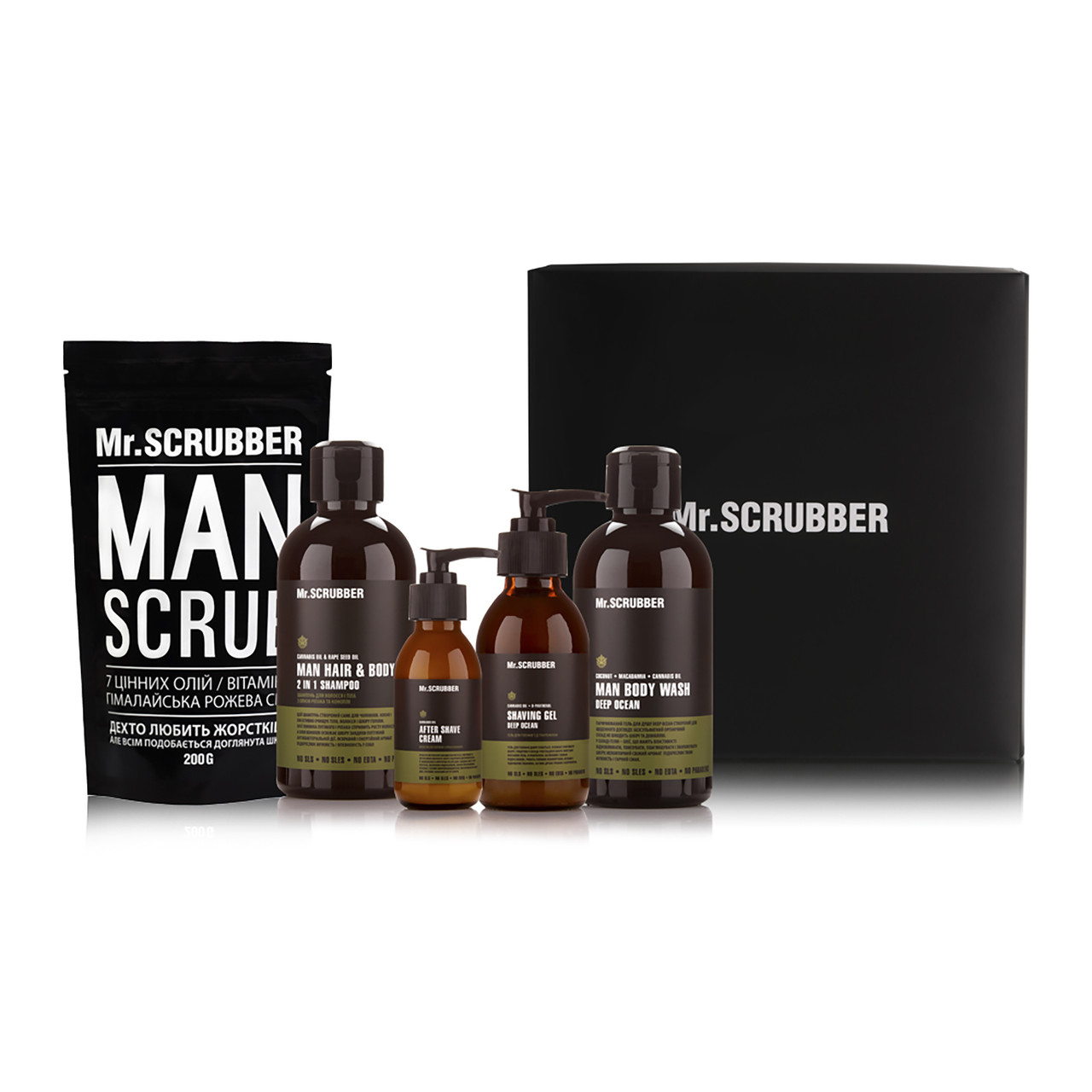 Набор мужской Beauty Box MAN Mr. Scrubber