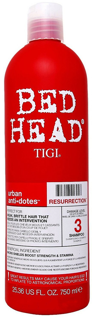 Шампунь для слабых, ломких, поврежденных волос TIGI RES 750 мл