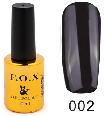 Гель - лак FOX для ногтей gold Pigment №002 12 мл