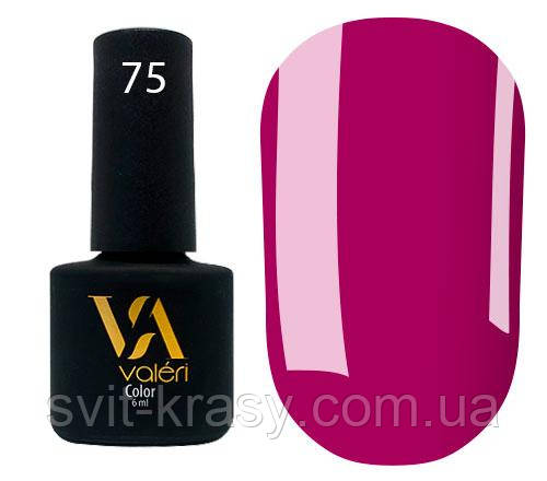 Гель - лак для ногтей Valeri Color №075 6 мл
