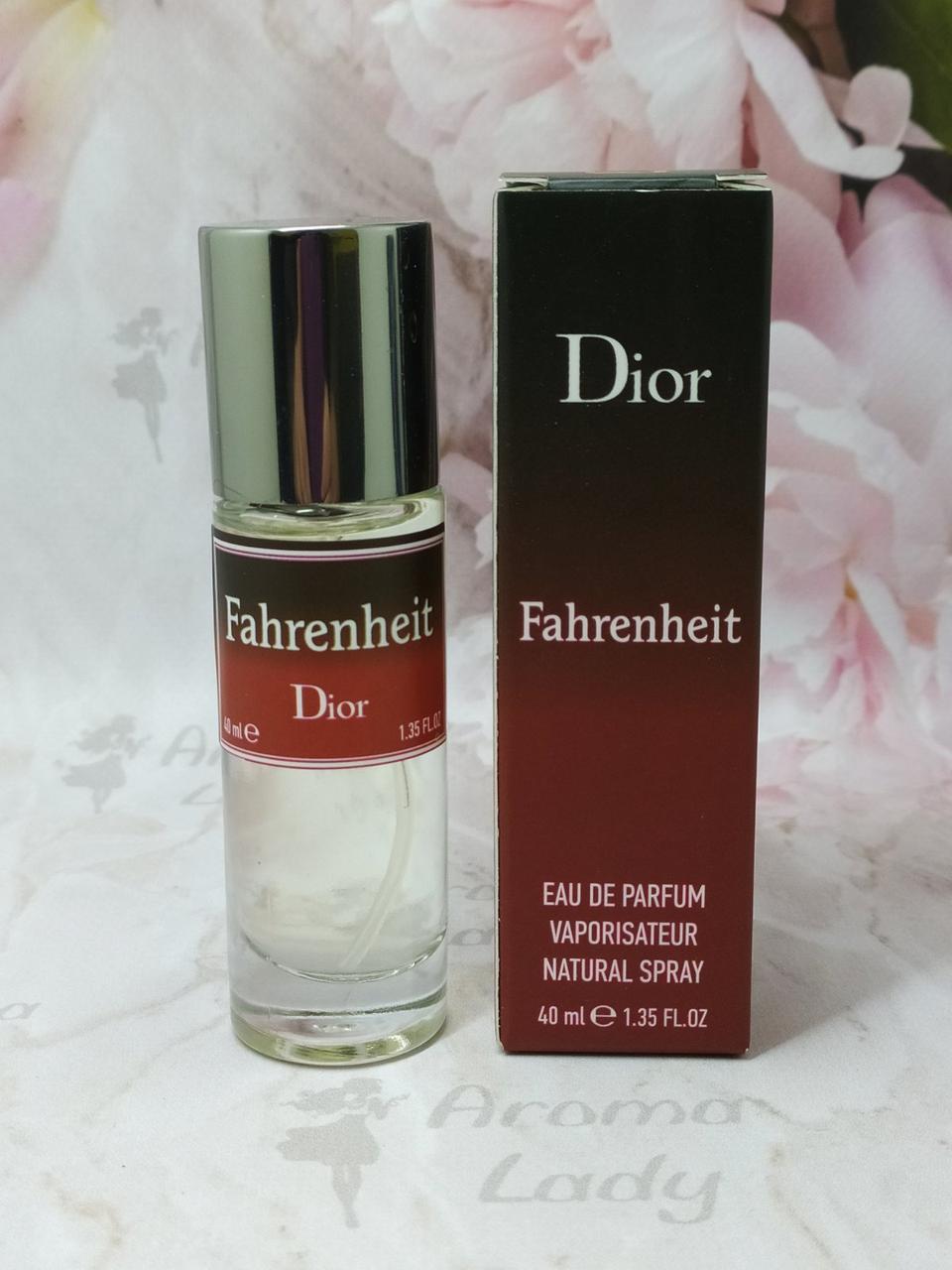 Мужской мини парфюм Dior Fahrenheit (Диор Фаренгейт) 40 мл
