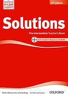 Solutions 2nd Edition Pre-Intermediate: Teacher's Book and CD-ROM Pack