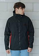 Куртка Staff soft shel black & bordo чёрный/бордовый LBL0142 S, 46