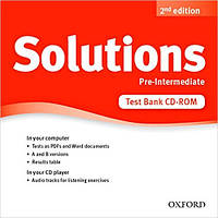 Solutions 2nd Edition Pre-Intermediate: Test CD-ROM