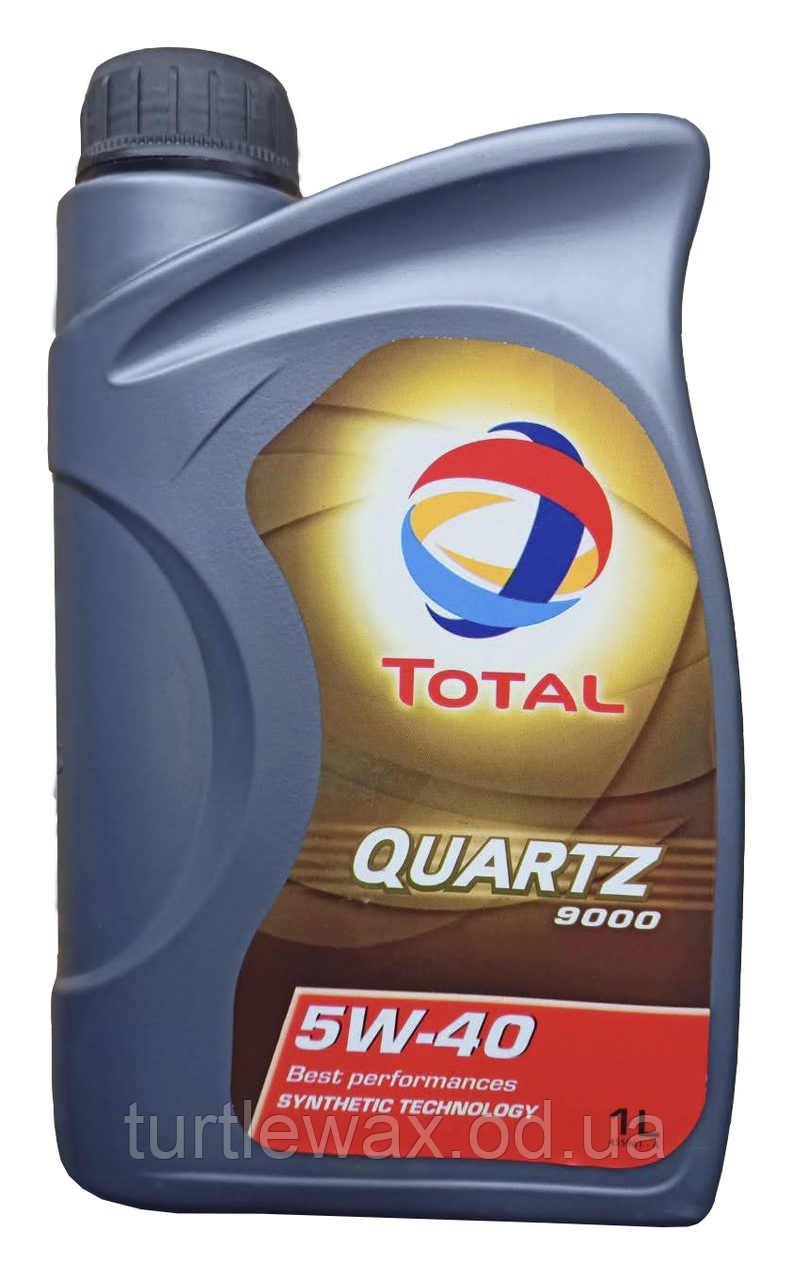 Олива моторна TOTAL QUARTZ 9000 5w40, 1л