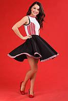 Платье с вышивкой на девушку, размер 46