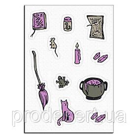 Ведьмины штучки вафельная картинка