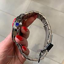 Оригинальные мужские часы стальной ремешок  Curren 8375 Silver-Blue / Часы Курен, фото 3