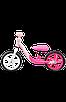 Беговел Lionelo ALEX BUBBLEGUM розовый, фото 4