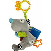 """Іграшка з вібрацією """"Bam Bam"""" Мишко сіра №B11.017.1.1"""