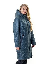 Жіноча куртка весна осінь великі розміри
