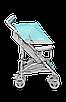 Прогулочная коляска Lionelo ELIA TROPICAL TURQUOISE, фото 5