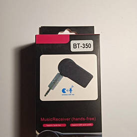 AUX Bluetooth адаптер BT350 AUX