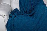 В'язаний Плед РОМАНТИК 160х210 лаванда Vividzone, фото 6