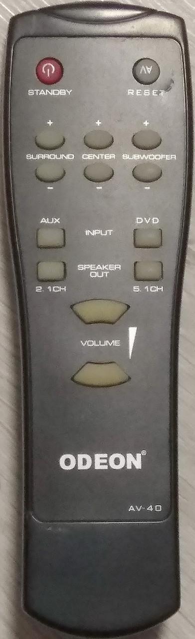 Пульт для акустики ODEON AV-40