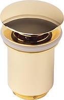 Донный клапан автомат KAISER 8011 Золотой