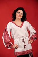 Женская вышитая блуза, размер 48