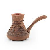 Турка для кави з червоної глини 0,35 л
