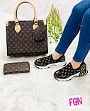 Набір: сумка, взуття, гаманець, фото 2