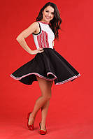 Платье с вышивкой на девушку, размер 48