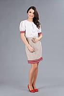 Костюм с украинской вышивкой для девушки, размер 48