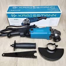 Угловая шлифовальная машина( болгарка) Kraissmann 1050 KWS 125