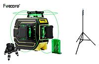 Откалиброван !!! Лазерный уровень Firecore F94T-XG + БОЛЬШОЙ ШТАТИВ !!!