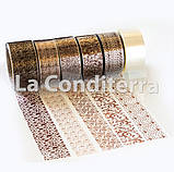 Щільна кондитерська стрічка (h=100 мм), в рулоні 500 м, фото 2
