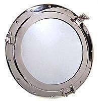Иллюминатор бронзовый с зеркалом d-43 см