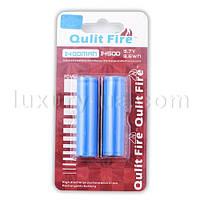 Аккумулятор Qulit Fire 14500-1400mAh, защита, блистер