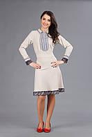 Платье с вышивкой на девушку, размер 50