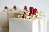 Біла Троянда натуральне мило з сіллю / Натуральное мыло с солью