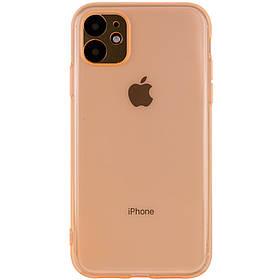 """Матовий напівпрозорий TPU чехол з захистом камери для Apple iPhone 11 (6.1"""")"""