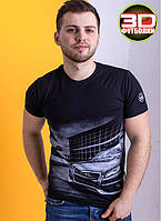 Супер модна молодіжна футболка Valimark-biz.з ефектом 3D (р44-50)