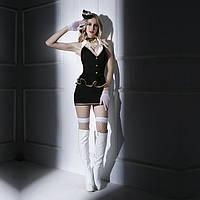 Еротичний костюм бортпровідниці S/M, фото 1
