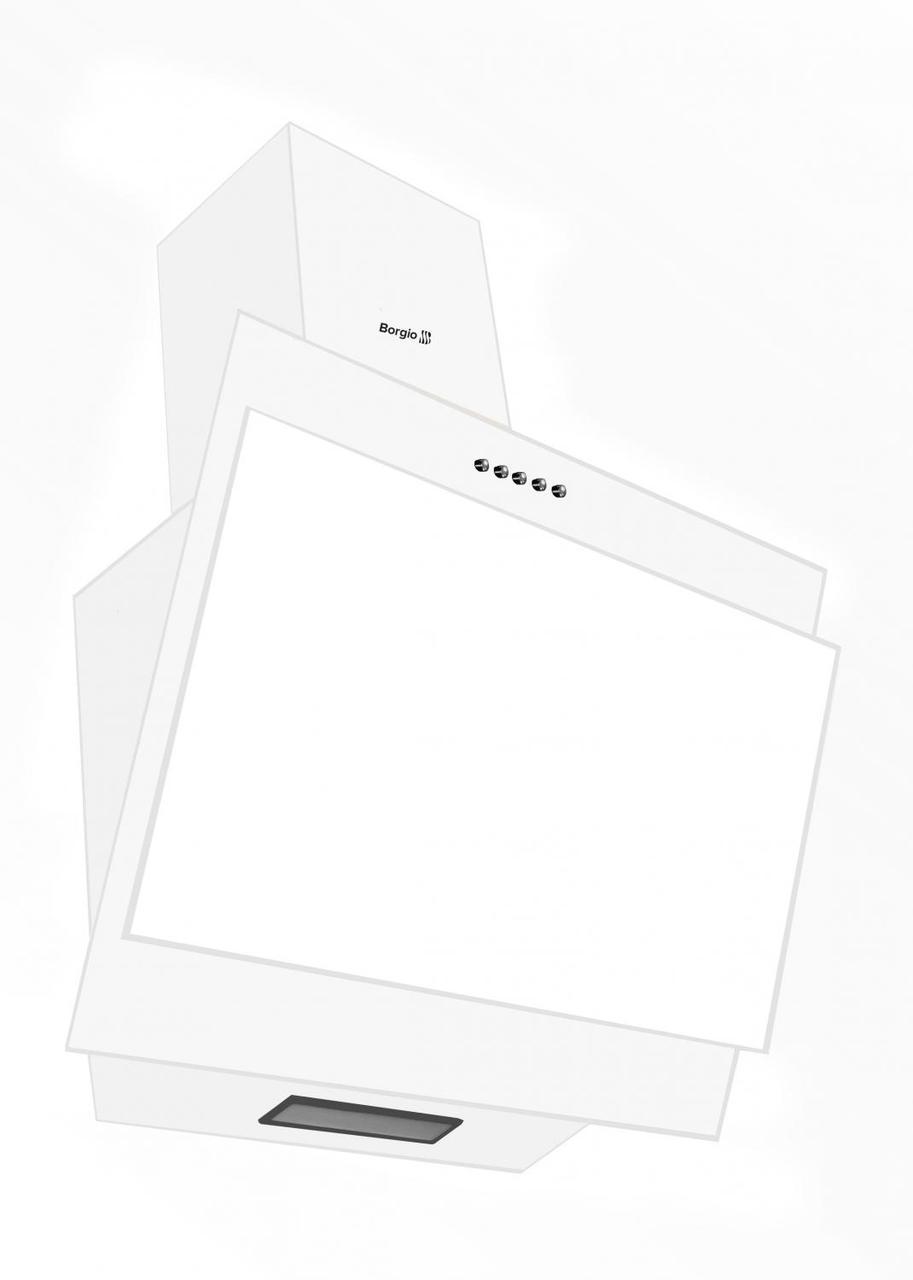 Вытяжка Borgio RNT-SG 60 MU (белое стекло)