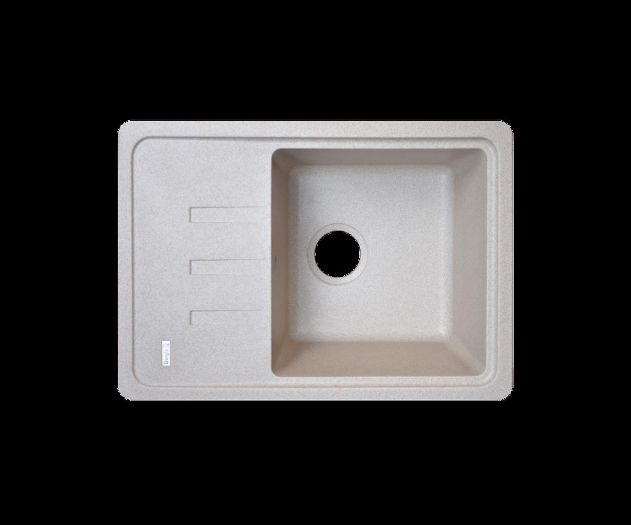 Кухонна мийка Borgio (граніт) PRC-620x435 (піщаний)