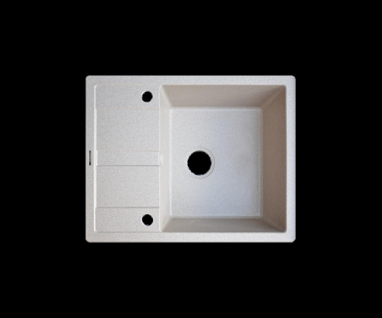 Кухонна мийка Borgio (граніт) PRC-650x500 (мигдаль)